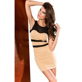 O-Neck Classic Comfortable Fit Mini Dress