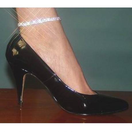 2 Row Rhinestone Ankle Bracelet