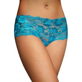 Sexy trendy Blue Lace Naughty Knicker Underwear