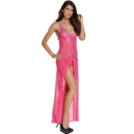 Bride Be Rosy Sleepwear Gown Set