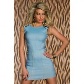 Denim Light Blue Party Dress