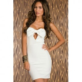 Daring Cut-Out Graceful Evening Dress