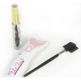 Heated Eyelash Curler with Clear Mascara