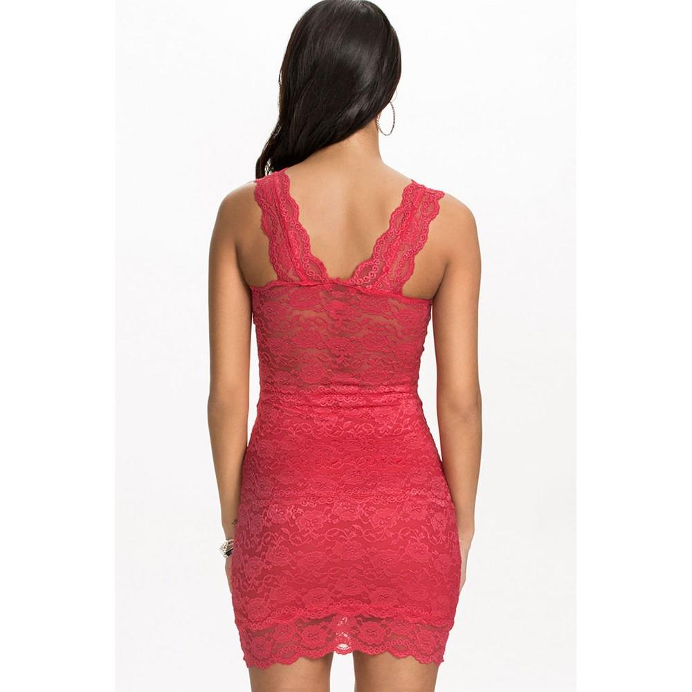Sexy lace club dress