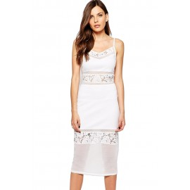 Lucky Layer Midi Dress
