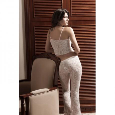 Floral Lace Pajama Set