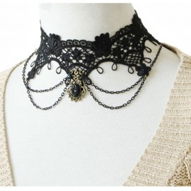One Piece Gothic Lace Necklace