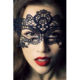 Fashion Masquerade Party Black Lace Mask