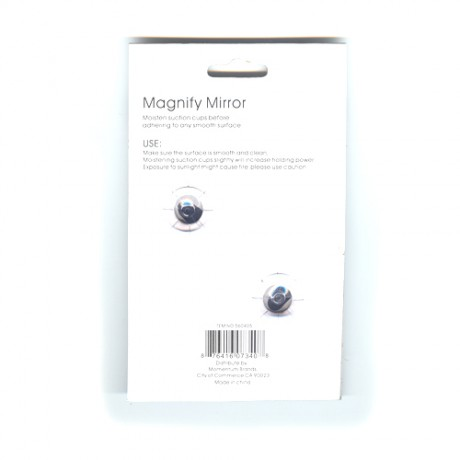 10X Magnification Make Up Mirror With Suction Cups