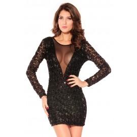 Sparkling Sizzling Mini Dress