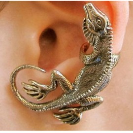 Vintage Lizard Fashion Earring