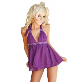 Siren Shape lavished Babydoll Purple